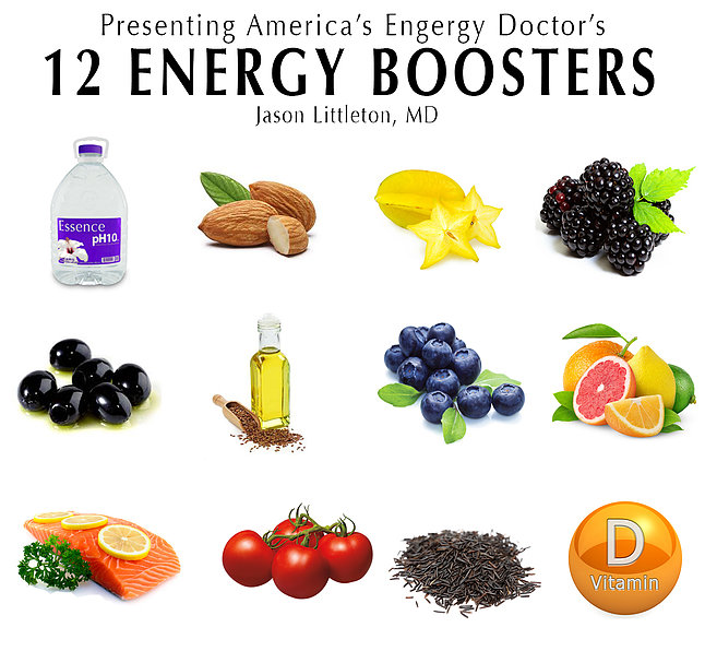 America's Energy Doctor's 12 Energy Boosters